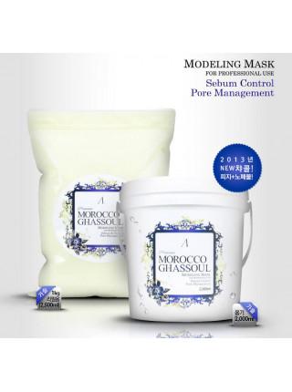 Альгинатная маска для жирной кожи с марокканской глиной Anskin Premium Morocco Ghassoul Modeling Mask