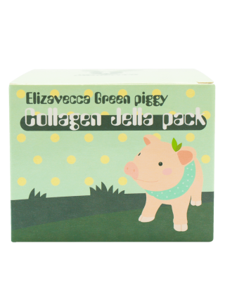Коллагеновая маска Elizavecca Green Piggy Collagen Jella Pack