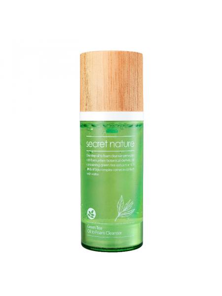 Гидрофильное масло-пенка с зеленым чаем Green Tea Oil to Foam Cleanser