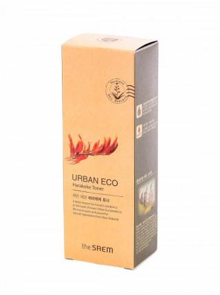Питательный тонер для лица с экстрактом новозеландского льна The Saem Urban Eco Harakeke Toner