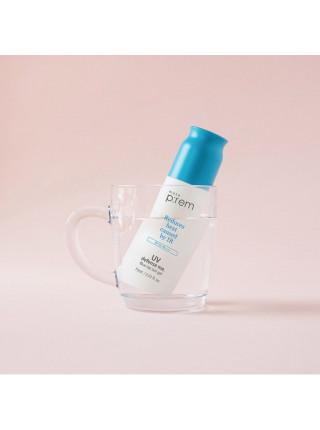 Солнцезащитный гель-крем для лица Make P:rem UV Defense Me Blue Ray Sun Gel SPF 50+PA++++