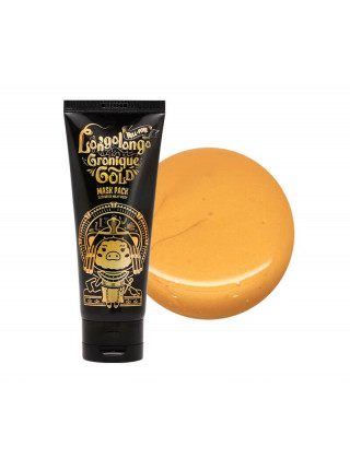 Золотая омолаживающая маска с пептидами Elizavecca Milky Piggy Hell-Pore Longo Longo Gronique Gold Mask Pack