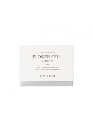 Крем для лица на фито-стволовых клетках эдельвейса It's Skin Flower Cell Cream