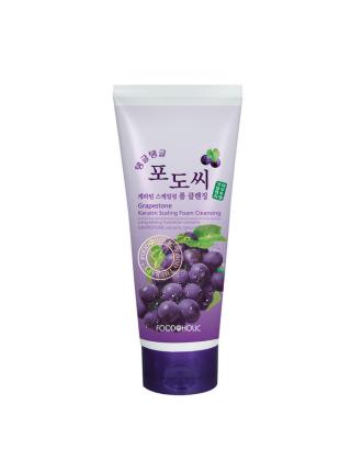 Пенка для умывания с экстрактом виноградных косточек Grapestone Keratin Scaling Foam Cleansing
