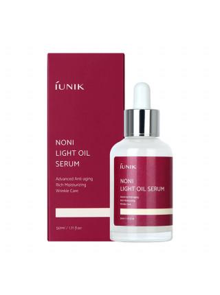 Лёгкое масло для лица с экстрактом фрукта нони iUNIK Noni Light Oil Serum