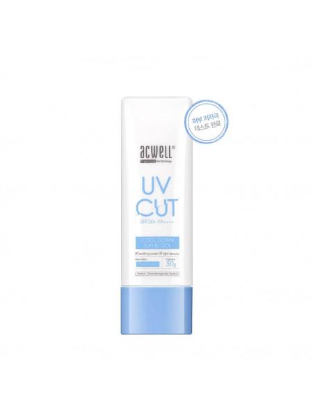 Охлаждающий солнцезащитный крем Acwell UV Cut Cool Down Sun Block