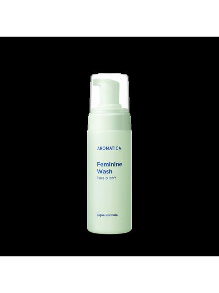 Нежная пенка для интимной гигиены AROMATICA Pure & Soft Feminine Wash