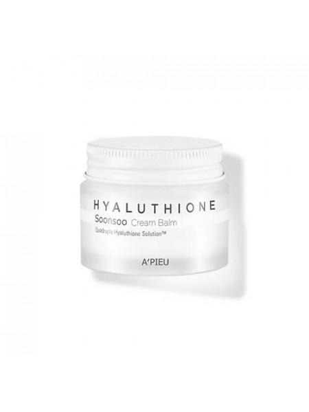 Гель-крем для глубокого увлажнения с гиалуроновой кислотой A'Pieu Hyaluthione Soonsoo Cream Balm