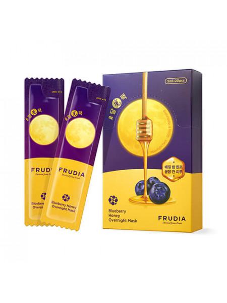 Увлажняющая ночная маска с черникой и мёдом Frudia Blueberry Honey Overnight Mask