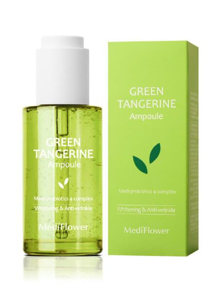 Тонизирующая сыворотка с экстрактом зелёного мандарина MediFlower Green Tangerine Ampoule