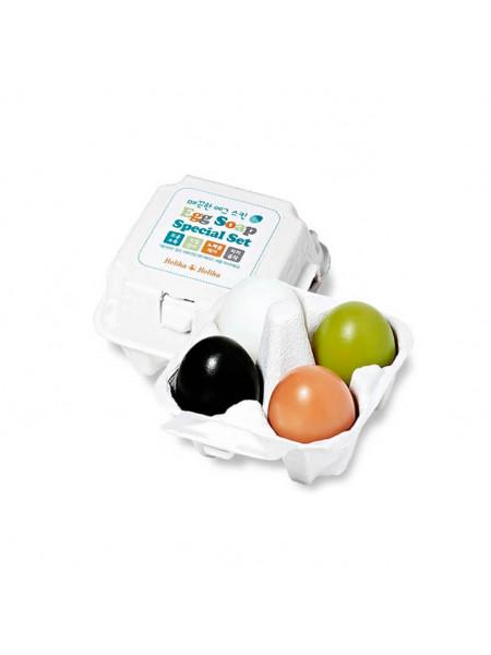 Набор яичного мыла ручной работы Holika Holika Egg Soap Special Set