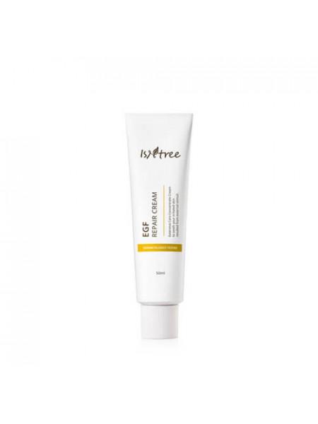 Восстанавливающий крем для зрелой кожи IsNtree EGF Repair Cream