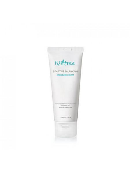 Балансирующий крем для чувствительной кожи IsNtree Sensitive Balancing Moisture Cream