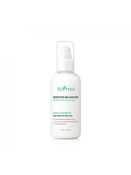 Балансирующая эмульсия для чувствительной кожи IsNtree Sensitive Balancing Moisture Emulsion