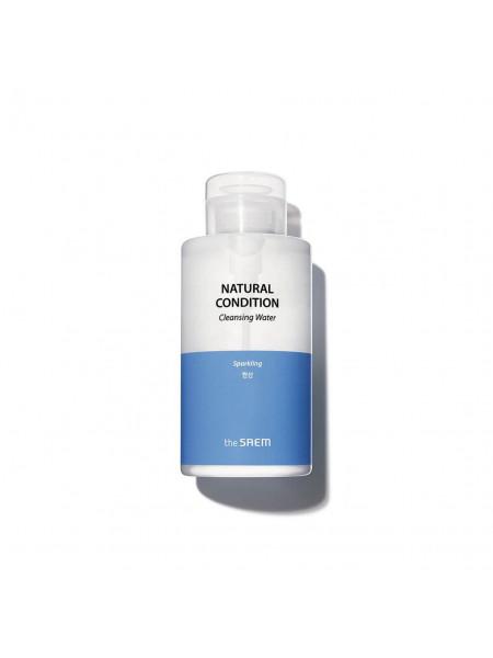 Очищающая вода для снятия макияжа The Saem Natural Condition Sparkling Cleansing Water