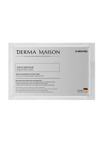 Восстанавливающая маска из биоцеллюлозы Medi-peel Derma Maison Mesorepair Regeneration Mask