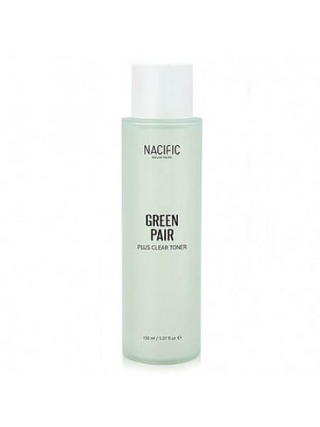 Двухфазный матирующий тонер NACIFIC Greenpair Plus Clear Toner