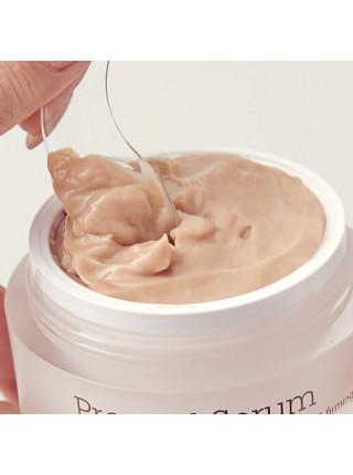 Спрессованый крем-серум с экстрактом гриба чага для упругости кожи Blithe Pressed Serum Tundra Chaga