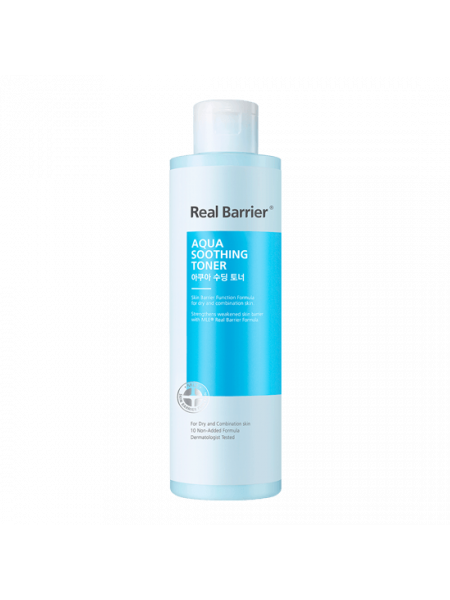 Успокаивающий тоник для увлажнения кожи Real Barrier Aqua Soothing Toner