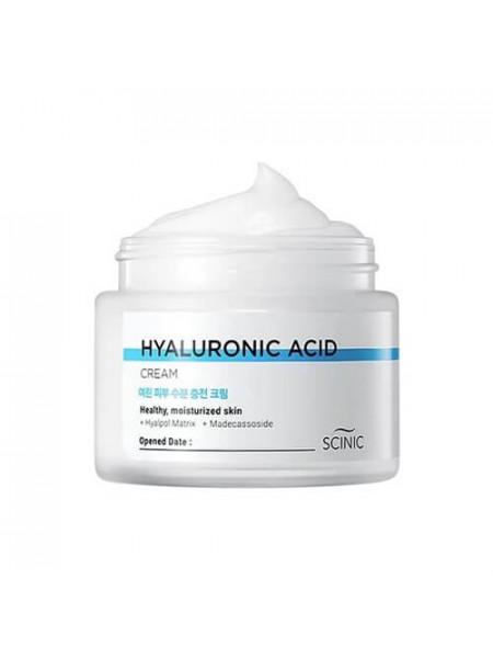 Гиалуроновый крем для лица Scinic Hyaluronic Acid Cream