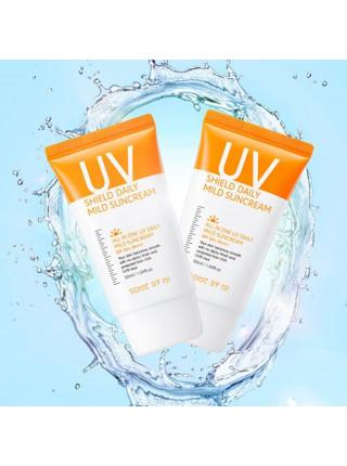 Ежедневный солнцезащитный крем Some By Mi UV Shield Daily Mild Suncream SPF50+
