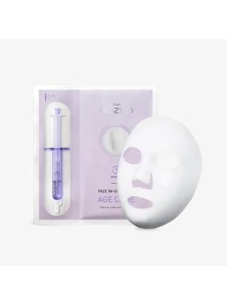 Антивозрастная маска-концентрат с лифтинг-действием The OOZOO Face In-Shot Mask Age Cure
