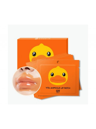 Патчи для губ с экстрактом мандарина G9SKIN B.Duck Vita Ampoule Lip