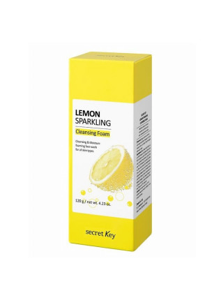 Пенка для умывания с экстрактом лимона Lemon Sparkling Cleansing Foam