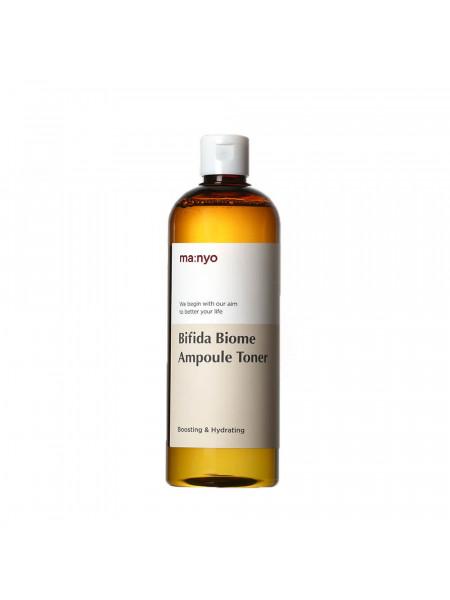 Ампульный укрепляющий тонер с бифидобактериями Manyo Bifida Biome Ampoule Toner