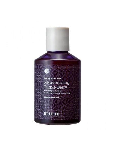 Антивозрастная сплэш-маска Patting Splash Mask Rejuvenating Purple Berry