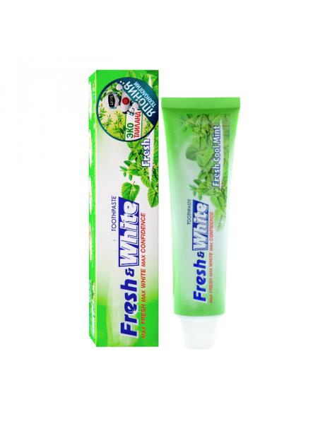 Зубная паста для защиты от кариеса, прохладная мята Fresh & White