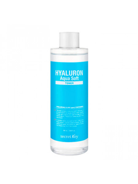 Гиалуроновый тоник для лица Secret Key Hyaluron Soft Micro-Peel Toner