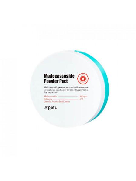 Компактная матирующая пудра для проблемной кожи A'pieu Madecassoside Powder Pact