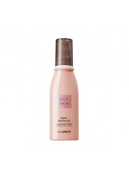 Лёгкое увлажняющее масло The Saem Silk Hair Argan Repair Moisture Oil