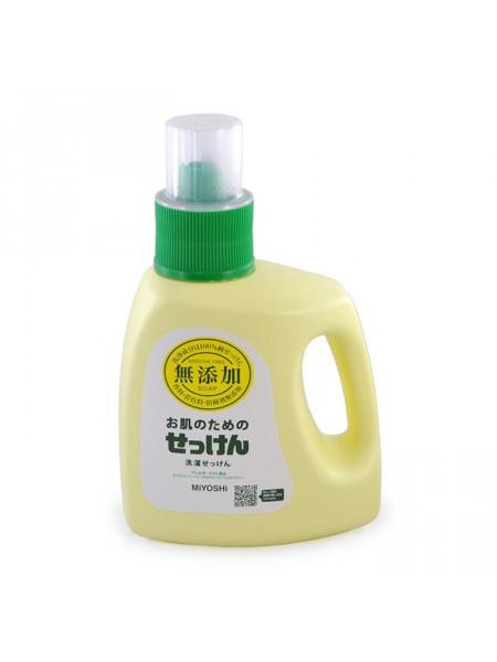 Жидкое средство для стирки на основе натуральных компонентов (для изделий из хлопка)