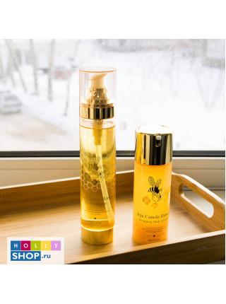 Мультифункциональный крем-гель с медом канолы The Yeon Jeju Canola Honey Wrapping Multi Cream