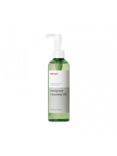 Гидрофильное масло на основе комплекса трав Manyo Herb Green Cleansing Oil