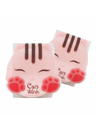 Матирующая компактная пудра Tony Moly Cats Wink Clear Pact #1 Clear Skin — Светлый беж