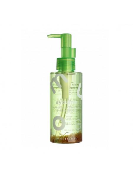 Гидрофильное масло с лепестками календулы Ayoume Olive Herbal Cleansing Oil