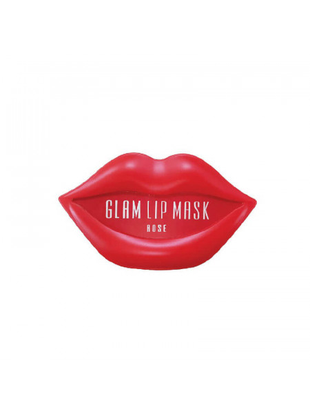 Гидрогелевые патчи для губ с розой Beauugreen Hydrogel Glam Lip Mask Rose