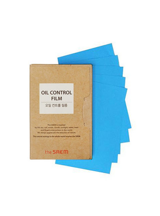 Матирующие салфетки The Saem Oil Control Film