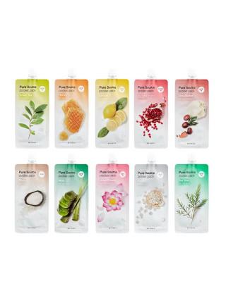 компактные маски для лица Missha Pure Source Pocket Pack - Алоэ Вера