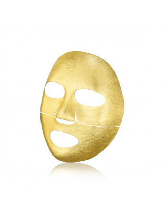 3-х слойная золотая маска для увлажнения кожи THE OOZOO Face Gold Foilayer Mask