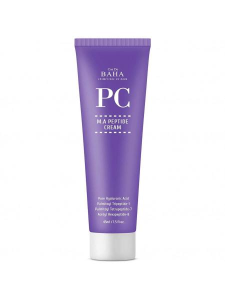 Пептидный крем против морщин Cos De Baha Peptide Cream Matrixyl 3000&Argireline