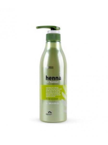 Укрепляющая маска для волос на основе хны Flor de Man Henna Treatment