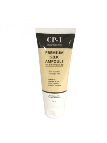 Несмываемая сыворотка для волос с протеинами шелка CP-1 Premium Silk Ampoule