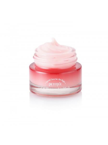 Ночная маска для губ с маслом камелии Petitfee Oil Blossom Lip Mask