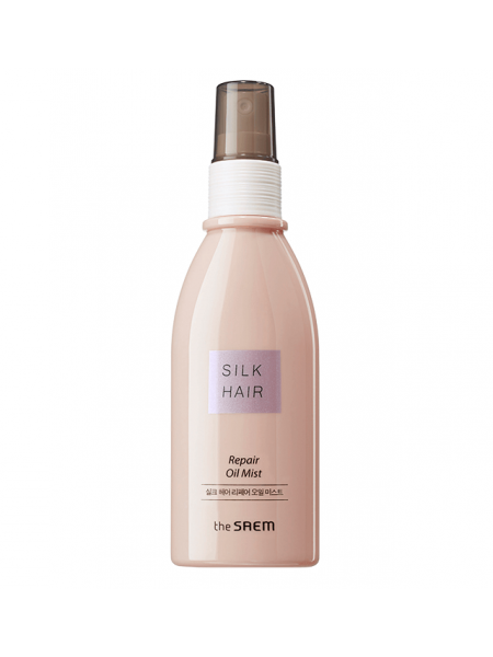 Восстанавливающий спрей для волос с арганой The Saem Silk Hair Repair Oil Mist