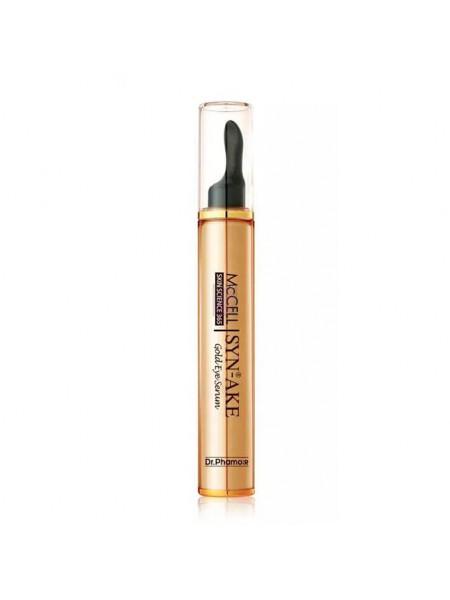 Пептидная сыворотка для век с золотом Dr.Phamor McСell Skin Science 365 Syn-ake Gold Eye Serum