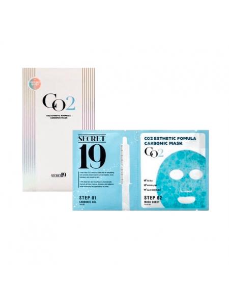 Карбокситерапия Esthetic House Secret19 CO2 Esthetic Formula Carbonic Mask